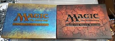 Mtg Ftv Twenty And Realms, New and Sealed, Mint Condition. Mtg From The Vault