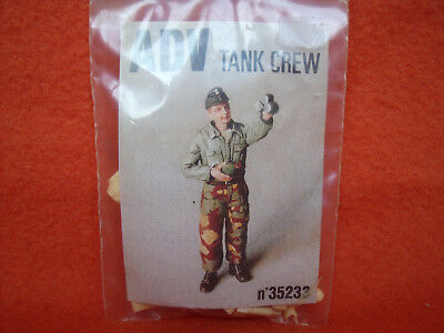 ADV ® 35233 Tank Crew Panzer Resin German Deutsch WWII 1:35