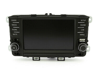 Bedieneinheit, Display, Composition Media, 6C0919603 #VW Polo 6C