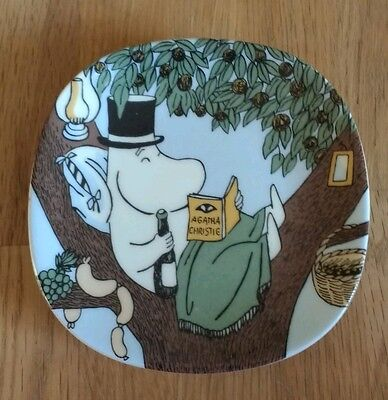 Arabia Finland - Moomins wall plate BACK TO NATURE 1990-1994