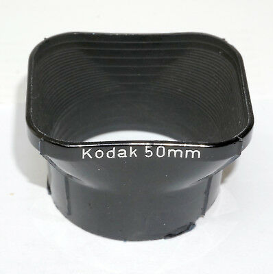 50mm lens hood for Kodak Retina IIIc and similar.