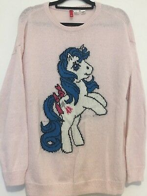 Rare And Beautiful Ladies Official Hasbro My Little Pony Jumper From H&M