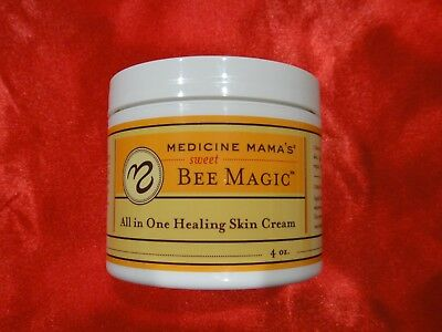 Medicine Mama's Bee Magic All in one healing cream 4 oz each unused