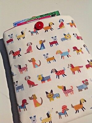 Padded book sleeve, book cover, book accessories, paperback book sleeve