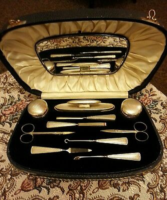 Solid Silver Manicure Set