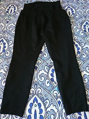 Next Black Maternity over bump Leggings/trousers Size 18