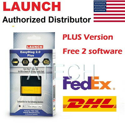 Launch EasyDiag 2.0 PLUS Diagnostic Code Reader Easy Diag Trouble Code Scanner