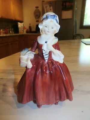 Vintage Royal Doulton Limited 1950's Livinia Colonial Woman Figurine Bone China