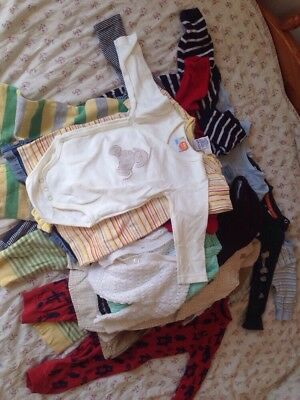 Job Lot Boys Baby Clothes 3-6 Months Big Bundle