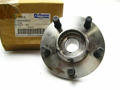 NEW GENUINE OEM Mopar FRONT Wheel Hub - 2000-01 Chrysler Neon, 01-02 Dodge Neon