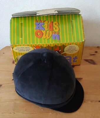 Horse Riding Hat Kids own by Charles Owen size 56 - 6 7/8