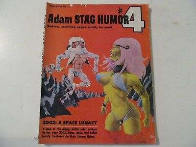 vintage HIGH GRADE ADULT COMIC: ADAM STAG HUMOR #4, 2002 A SPACE LUNACY