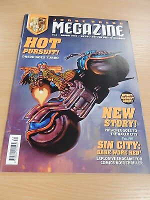 Judge Dredd Megazine Comic -  Issue 44 -  August 1998