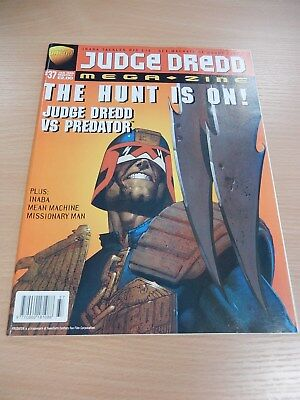 Judge Dredd Megazine - Issue 37 - Jan 1998