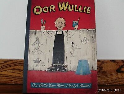 oor wullie annual 1970s. retro annual from the late 60s  or early 70s