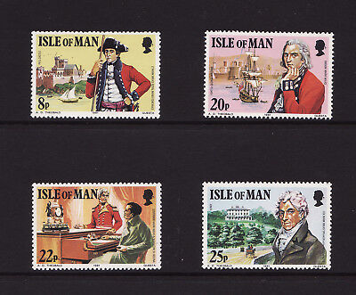 1981 Isle of Man, Col. Mark Wilks, NH Mint Set of Stamps, SG 197-200