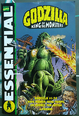 GODZILLA KING OF MONSTERS. MARVEL ESSENTIAL Graphic Novel Compilation