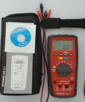BENNING Digital Multimeter MM 7-1 TRUE RMS