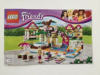 Lego Friends 41008 Heartlake City Pool Complete With