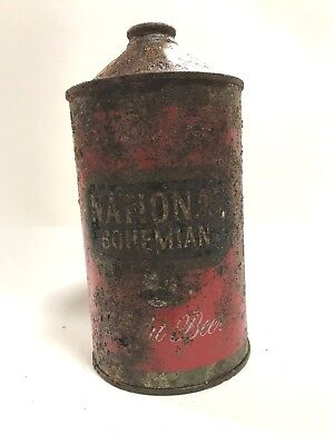 National Bohemian Light Quart Cone Top beer can