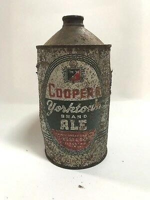 Coopers Ale Quart Cone top beer can