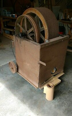 "DRUM SANDER 12"" wide from Hi-Flier Kite Co., Decatur, IL - NR!  99 cents!!"