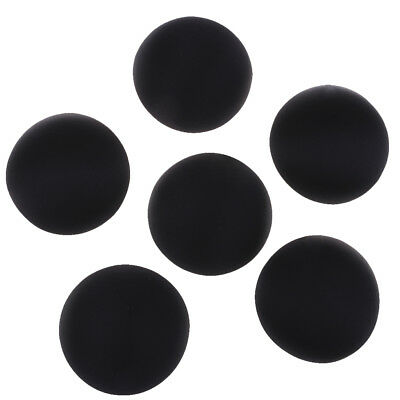 3 Pairs Women Bikinis Removable Bra Pads Inserts Sponge Push Up Round Black