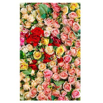 3x5ft Vinyl Photography Backdrop Photo Studio #41 Rose Flowers Valentine's M2F9