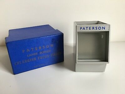 Paterson Large Screen Enlarging Focus Finder  By  R.F Hunter Ltd.