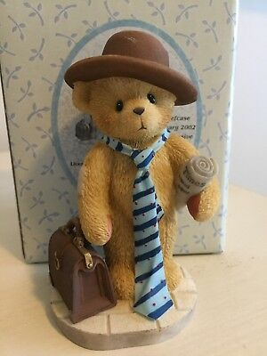 "Cherished Teddies ""Waldo"" We Work Hard To Make You Happy 2002 Convention Excl"