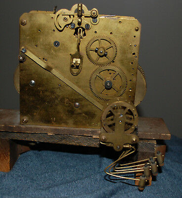 Old Westminster Chime Clock Movement 8052