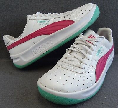 Puma GV Special Jr 6 38 344765-39 White Beet Pink Green Sneaker Classic Sport