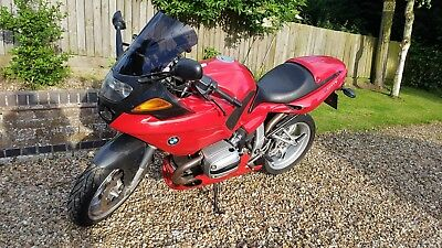 BMW r1100 S Red 2001 29950 miles belly pan