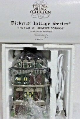 Dept 56 Dickens Village The Flat of Ebenezer Scrooge - 55875