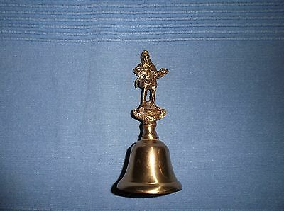 Vintage Authentic MICAWBER Brass Bell with Clear Loud Tone Made in England