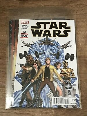 STAR WARS #1, 2, 3, 4, 5, 6 (Marvel Comics, Jason Aaron, John Cassaday)