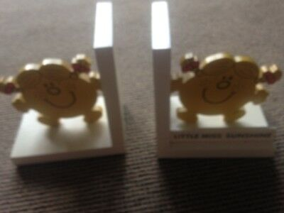 Little Miss Sunhine Book Ends