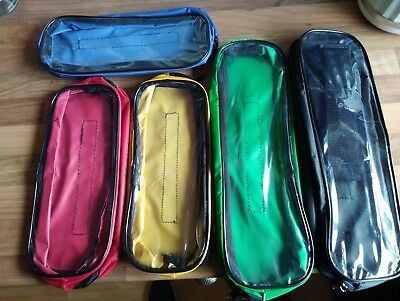 first aid kit 5 spare pouches transparent with and zip medic bag