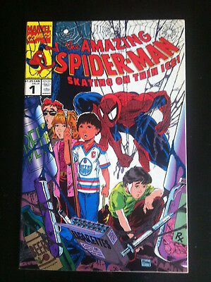 The Amazing Spider-Man 1: Skating on Thin Ice - Canadian Variant