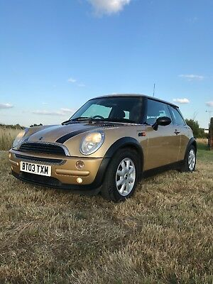 Bmw Mini One 2003 1.6 Gold Great Condition