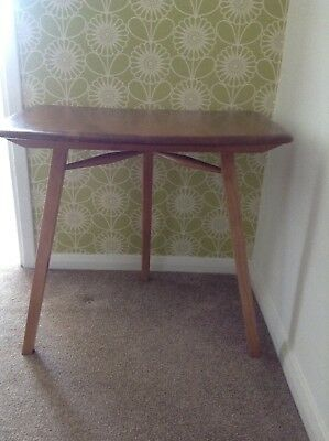 Ercol Small Table /childrens Desk extension table retro table vintage furniture