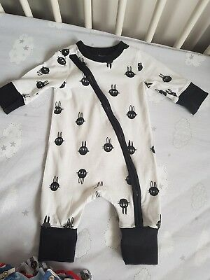 Myleen Klass By Mothercare Baby Outfit Unisex Black And White Size Upto One...