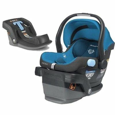 UPPAbaby 0225-GEOK - MESA Car Seat - Georgie Marine Blue With Base. EITHER..