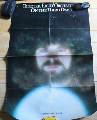 "Vintage Electric Light Orchestra Poster (On The 3rd Day) (1973) 30"" x 20"""