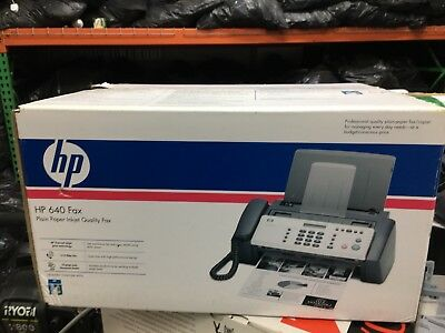 Brand New Factory Sealed HP 640 Fax Plain Paper Inkjet