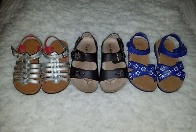Toddler Girl Size 7 SANDAL LOT- Mini Boden- Old Navy- Gymboree (Lot of 3 Pairs)