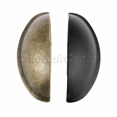 80*30mm Cupboard Cabinet Knob Cup Drawer Shell Pull Furniture Closet Door Handle