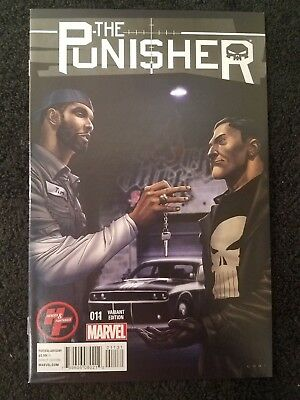2014 Marvel Comics The Punisher #11 Heroes & Fantasies Variant Edition Nm