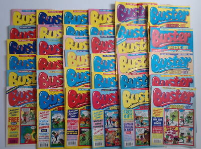 Thirty Five BUSTER with Whizzer and Chips Comics (early 90's)