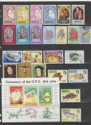 Barbuda Mostly Mint Collection many NH